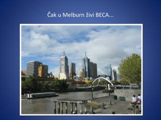 Č ak  u  Melburn ž ivi  BECA...
