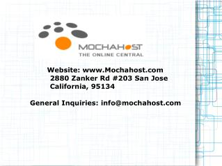 MochaHost Has Best Coupon Offers for Customers to Avail Services