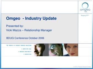 Omgeo  - Industry Update