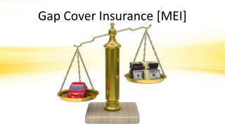 Gap Cover Insurance [MEI]