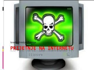 prijetnje  na internetu