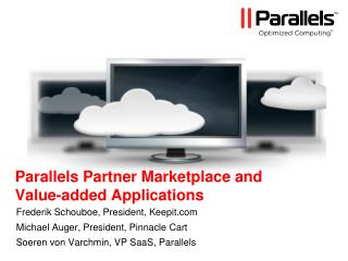 Parallels Partner Marketplace and  Value-added Applications