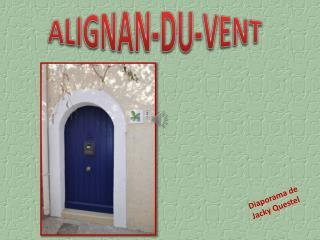 ALIGNAN-DU-VENT