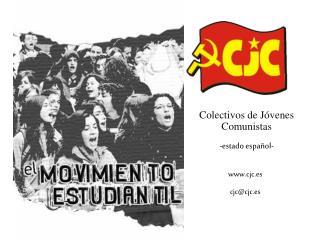 Colectivos de Jóvenes Comunistas -estado español-