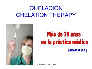 QUELACIÓN CHELATION THERAPY