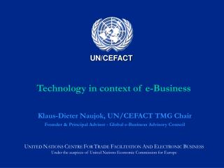 Technology in context of e-Business