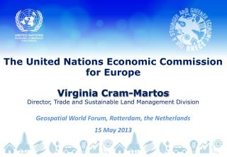 The United Nations Economic Commission for Europe