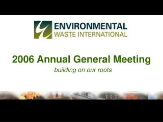2006 Annual General Meeting