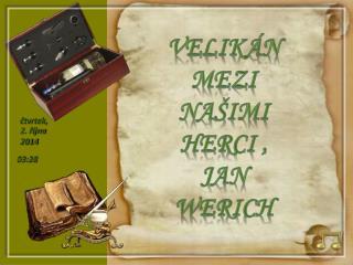 Velikán mezi našimi herci ,     Jan   Werich