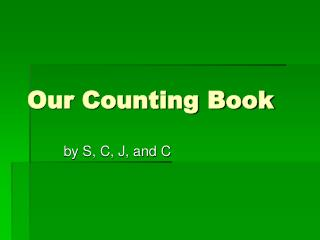 Our Counting Book