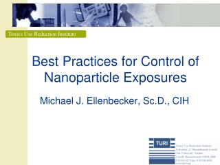 Best Practices for Control of Nanoparticle Exposures