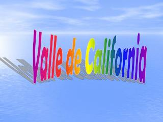 Valle de California