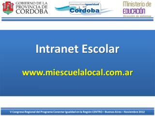 Intranet Escolar
