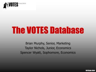 The VOTES Database