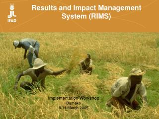 Results and Impact Management System RIMS