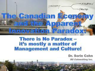 The Canadian Economy and the Apparent Innovation Paradox: