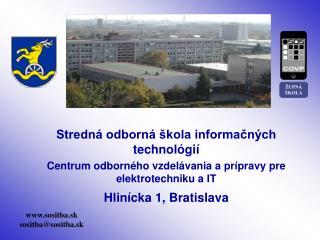 Stredná odborná škola informačných technológií