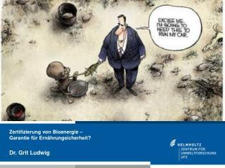 Zertifizierung von Bioenergie – Garantie für Ernährungsicherheit?
