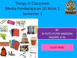 Media Pembelajaran Kelas 1 sd semester 1