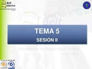 TEMA 5 SESIÓN II