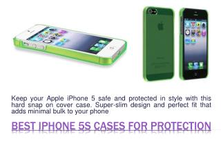 Clear Cases For IPhone 5S