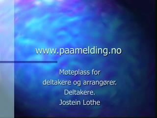 paamelding.no