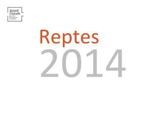 Reptes 2014