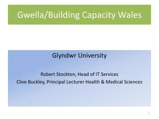 Gwella / Building Capacity Wales