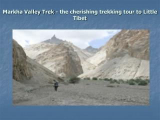 Markha Valley Trek - the cherishing trekking tour to Litt