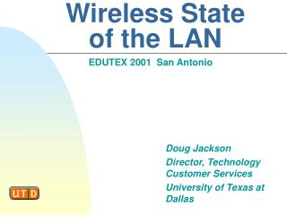 Wireless State  of the LAN