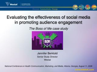 Evaluating the effectiveness of social media in promoting audience engagement