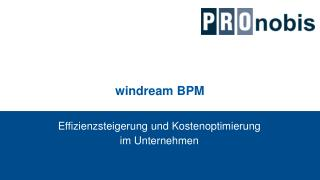 windream BPM