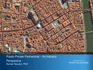 Public-Private Partnership – An Industry Perspective