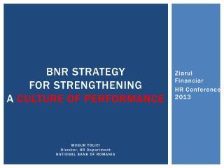 Ziarul Financiar HR Conference  2013