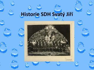 Historie SDH Svat� Ji?�