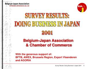Belgium-Japan Association  & Chamber of Commerce