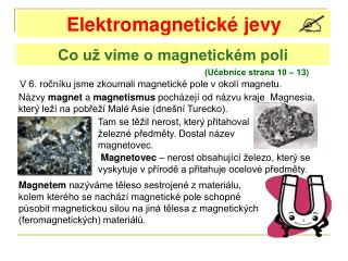 Elektromagnetické jevy