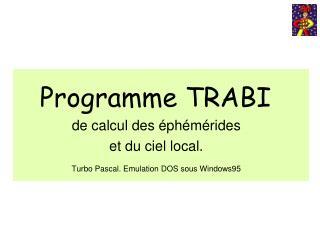 Programme TRABI