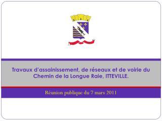 Réunion publique du 7 mars 2011