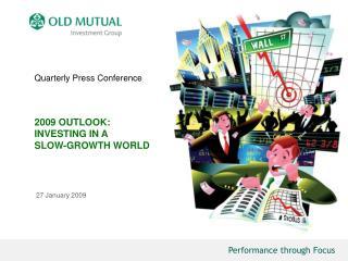 Quarterly Press Conference