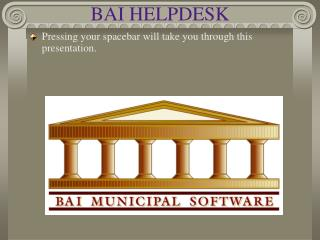 BAI HELPDESK
