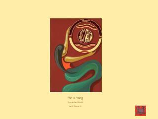 Yin & Yang Gouache 30x40 Anh Gloux  