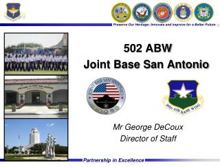 502 ABW Joint Base San Antonio