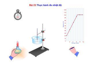Bài 23  Thực hành đo nhiệt độ