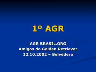 1º AGR