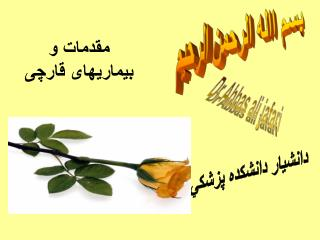 Dr Abbas ali jafari