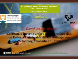 Dr. Daniel Losada Iglesias