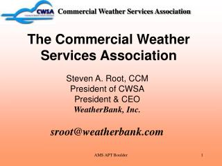 Commercial Weather Services Association