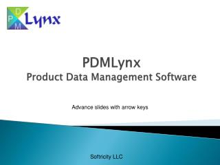 PDMLynx Product Data Management Software