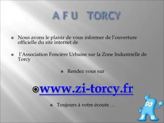 A F U   TORCY